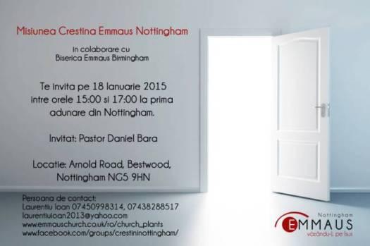 Emmaus Nottingham