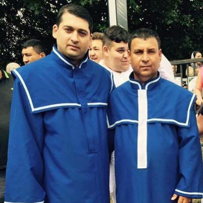 Fratele Vervelas la Biserica Maranata Edmonton